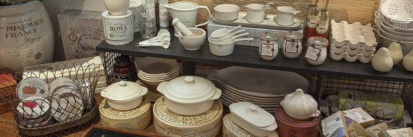 French Bakeware Cookware and Flatware