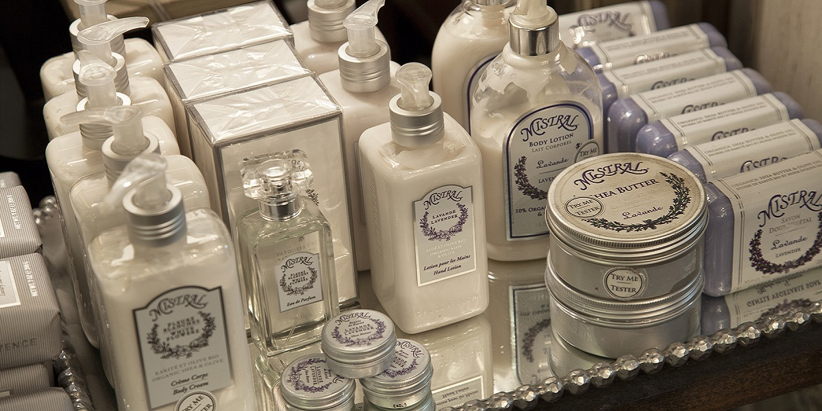 Mistral Soaps and Creams