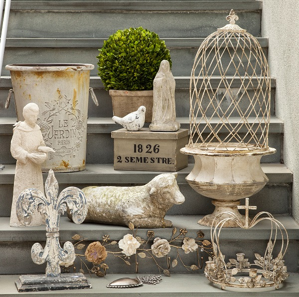 Parisian Inspired Home Decor items for indoors and out