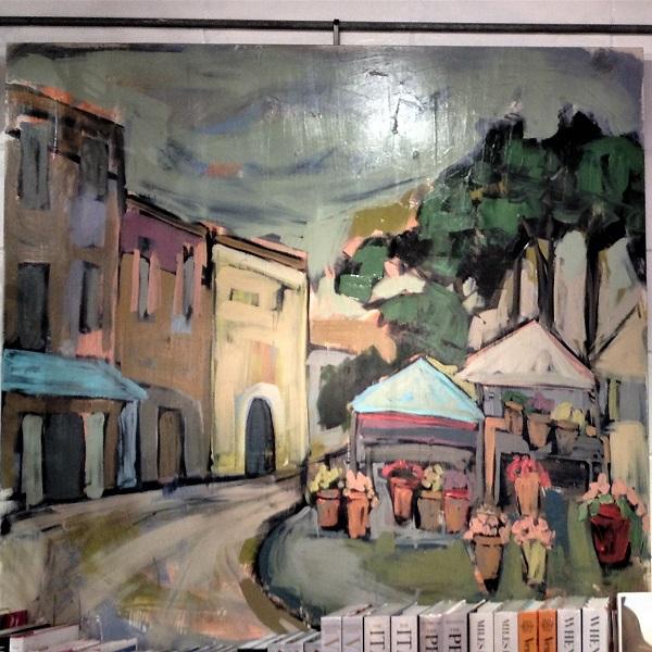 Beautiful Artwork at An Apartment in Paris